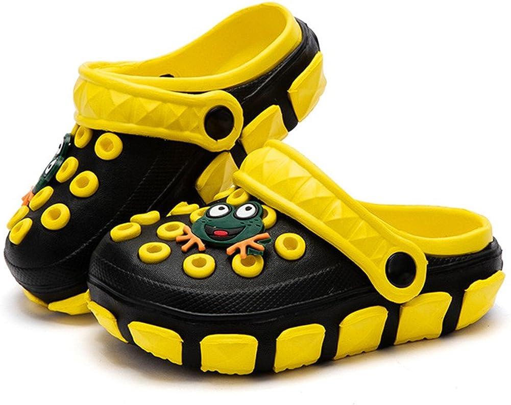 Sabots et Mules Enfants Sabots Pantoufles Chaussures Mixte Enfant B/éb/é Fille Gar/çon Antid/érapant Et/é Piscine de Jardin 24-39
