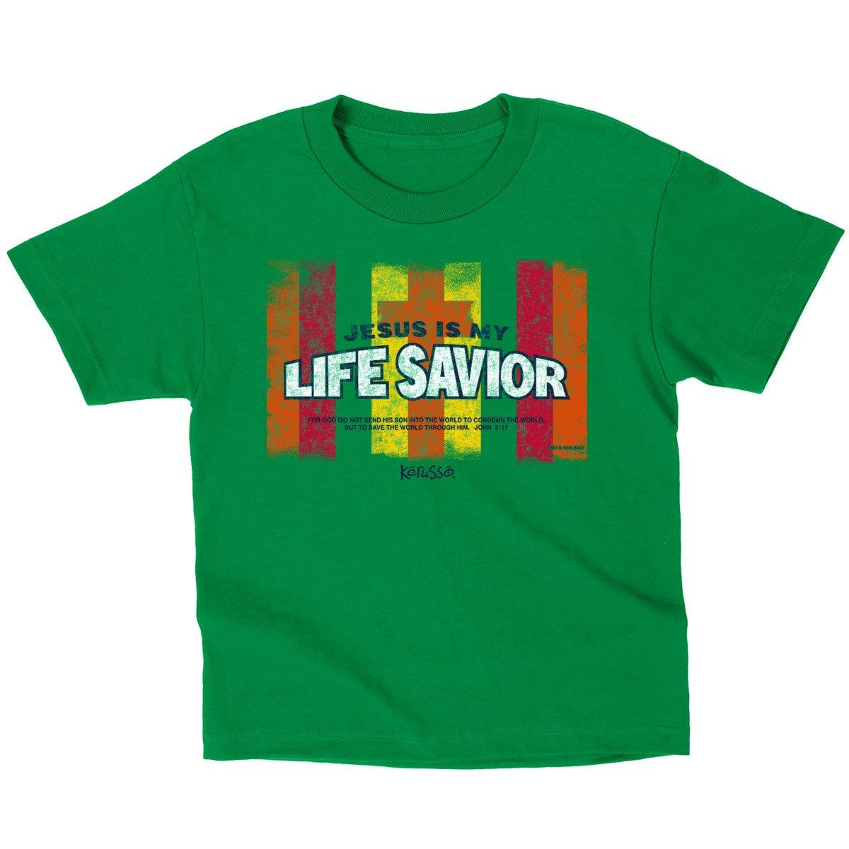 Kerusso Kids Life Savior T-Shirt – Kelly Green –
