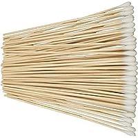 "Pomcat 6"" Cotton Swabs Extra Long Applicator Q-tip Wood Handle Sturdy 100pcs/Pack"