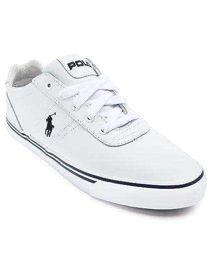 Polo Ralph Lauren - Zapatillas Deportivas - Hombre - Hanford Blanco Piel Zapatillas Deportivas para Hombre, Color Blanco, Talla 40 EU: Amazon.es: Zapatos y ...