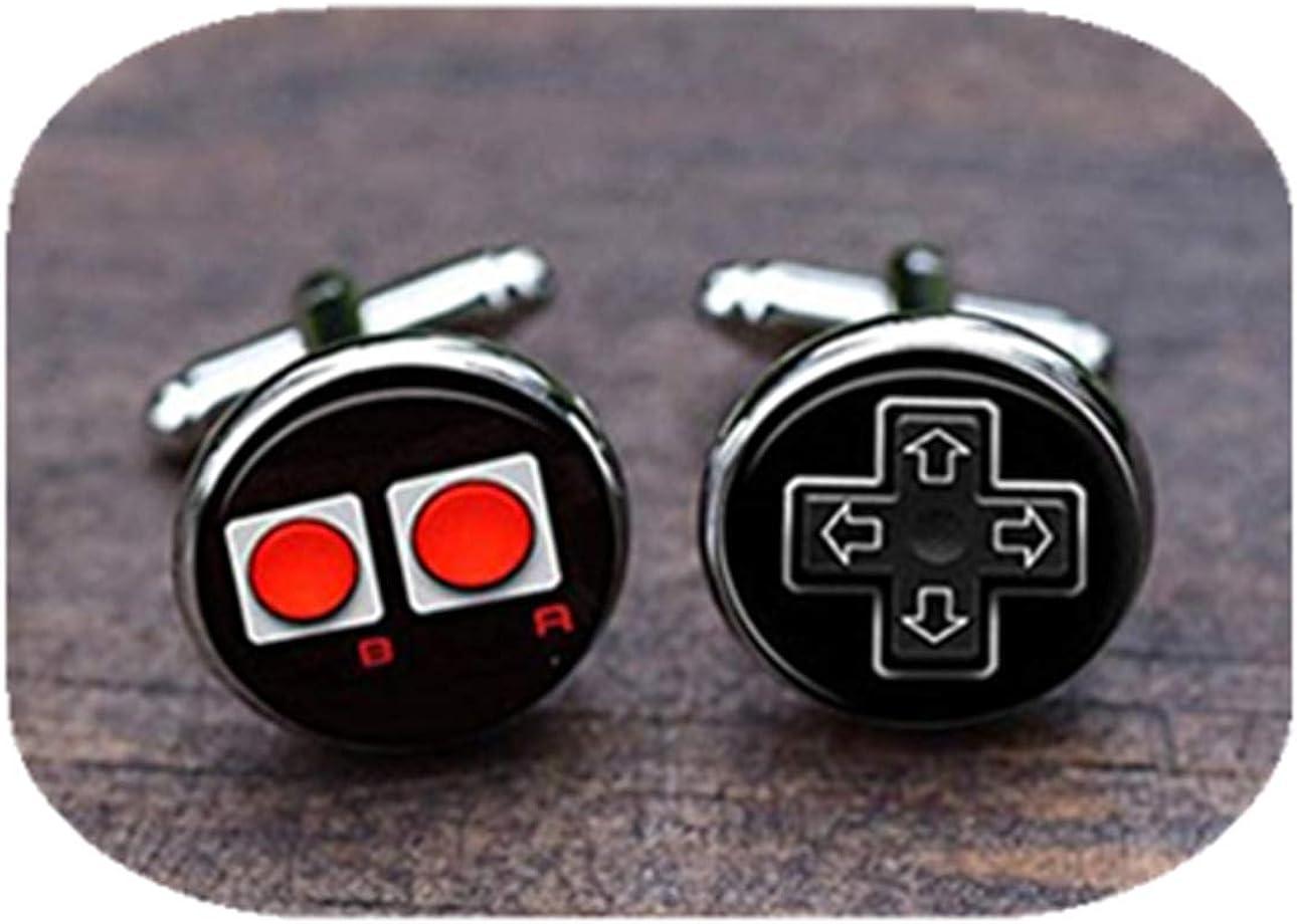 Leonid Meteor Gemelos de control de juego de ducha, Gemelos de videojuegos, Gemelos de controlador de consola de juegos, Gemelos: Amazon.es: Joyería