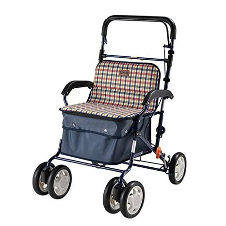 CAIyi Carros de la compra Carro de la compra Old Man Trolley ...