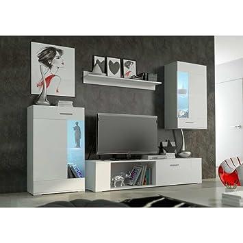 JUSThomd Foox Mini Muebles de salón Comedor Color: Blanco ...