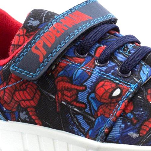 Spiderman , Jungen Sneaker, blau - blau - Größe: 31 EU Kinder