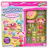 Happy Places Shopkins Princess Puppy Garden Party Welcome Pack