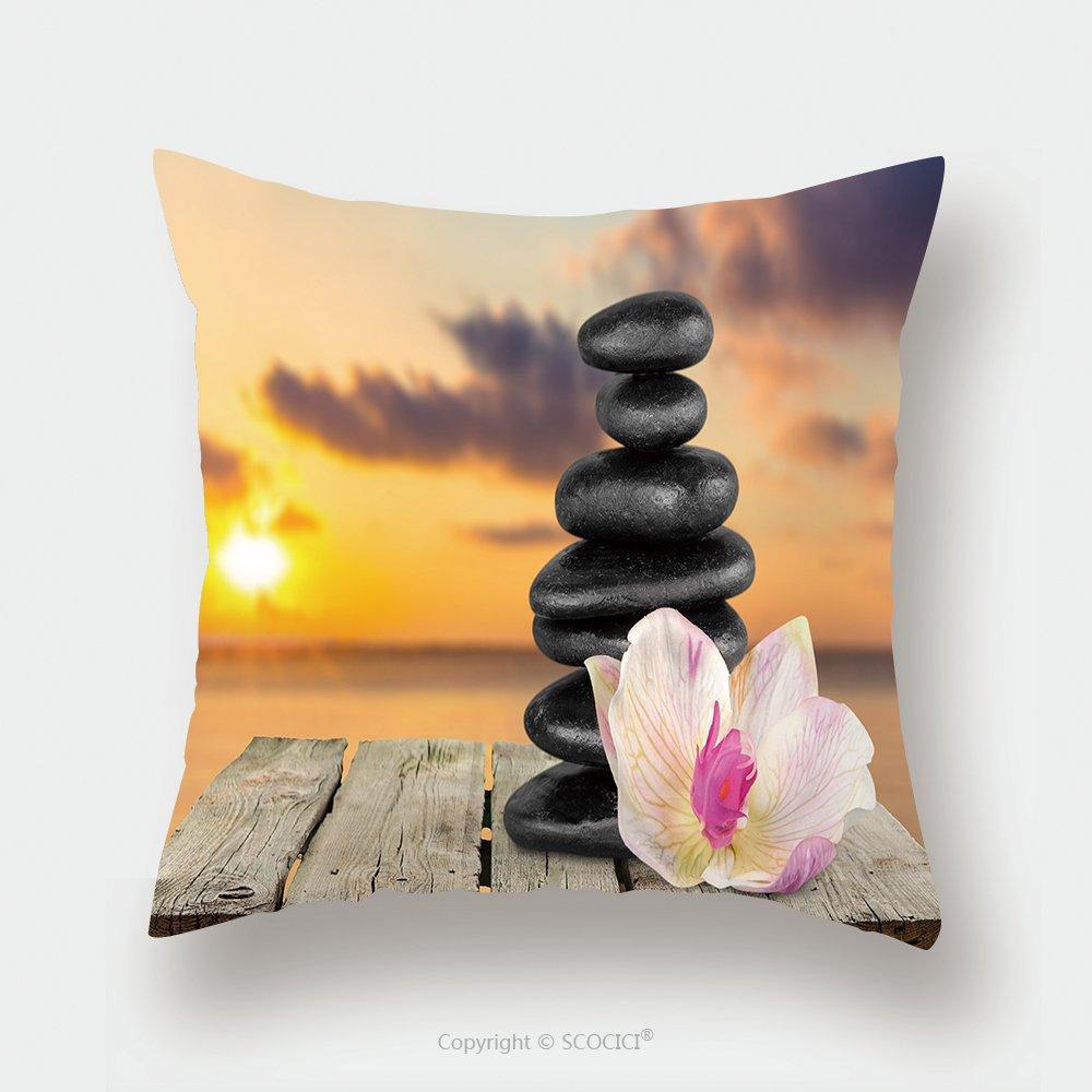 Custom Satin Pillowcase Protector Spa Treatment Health Spa Stone 284687480 Pillow Case Covers Decorative