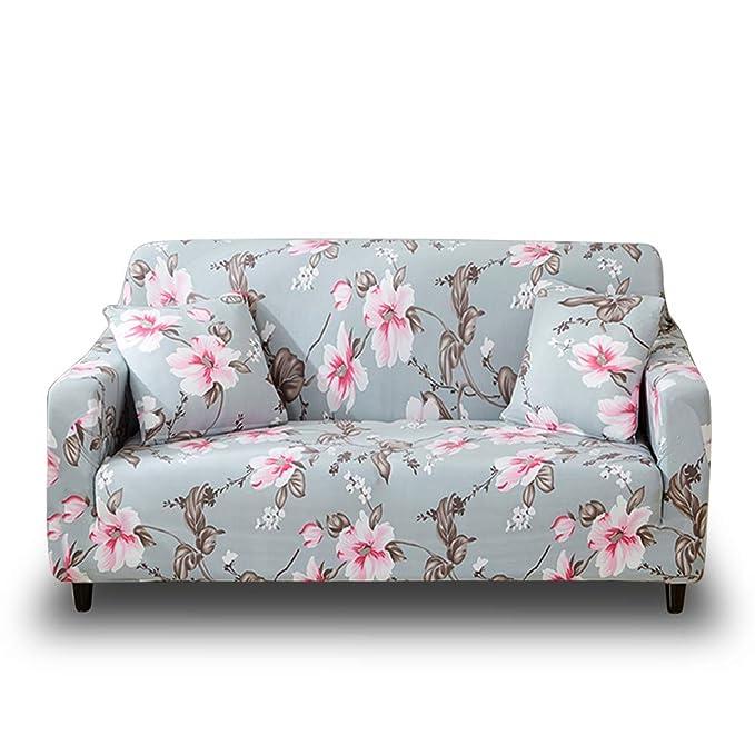 Funda de sofá estampada y lavable de Hotniu, 1 unidad, contrachapado, Pattern #28, 3 Seater for 195-230cm: Amazon.es: Hogar