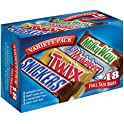 18 Count 33.31 Oz Mars Full Size Candy Bars Assorted Variety Pack