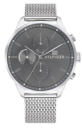 Tommy Hilfiger Unisex Multi Zifferblatt Quarz Uhr mit Edelstahl Armband  1791484  Amazon.de  Uhren a3a45fb28d