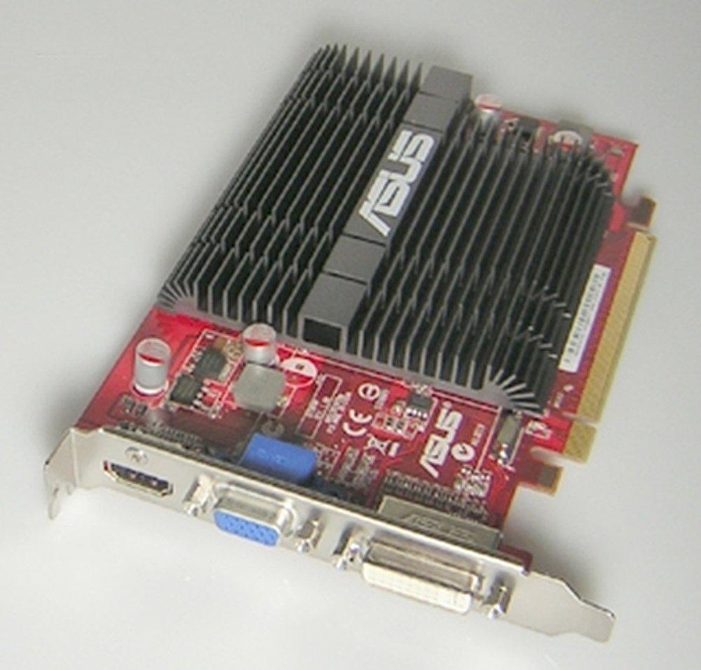 ASUS EAH4350 SILENT/DI/tarjeta gráfica ATI Radeon 512MD2 ...