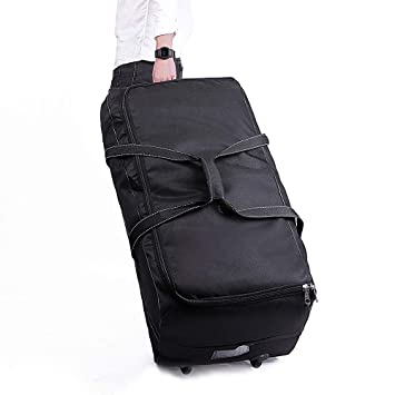 Amazon.com   cherrboll Stroller Car Seat Travel Bag with Wheels - Gate Check  Cover for Standard Strollers Baby Carseat Infant Booster - Large Rolling  Duffel ... b5b479990ff26