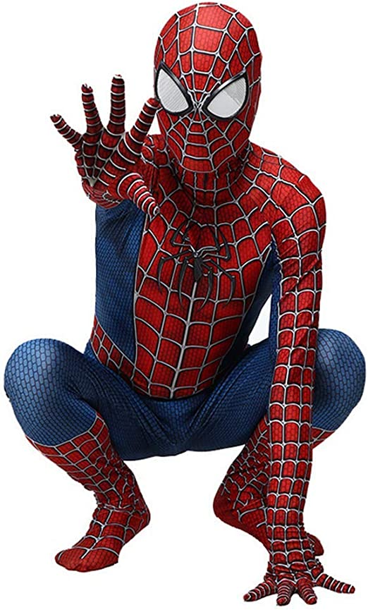 RNGNBKLS Niño Adulto Spiderman Homecoming Disfraz Halloween ...