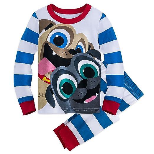 Amazon Com Disney Bingo And Rolly Pj Set For Kids Puppy Dog Pals