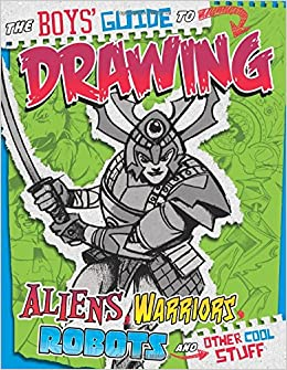 amazoncom boys guide to drawing drawing cool stuff 9781429629171 aaron sautter books