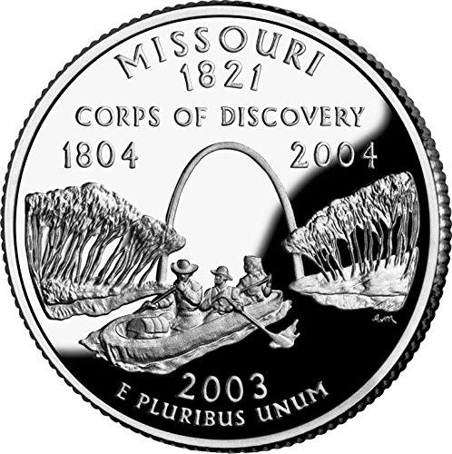 2003 Missouri – D State Quarter Roll