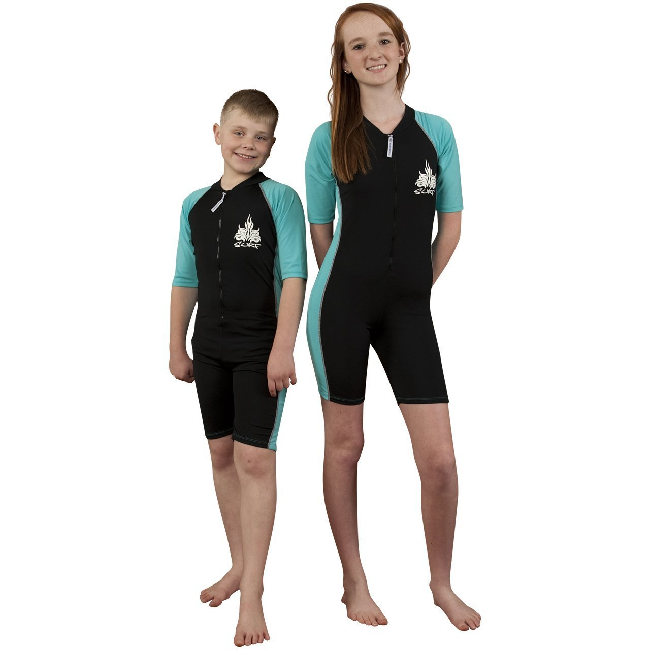 a98fecda Amazon.com : UV Swimsuit for girls or boys- SPF / UPF Sun Protection  Swimwear - Solartex : Clothing