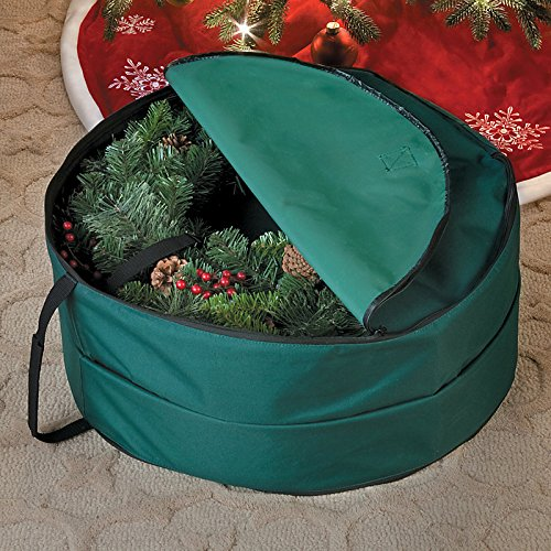 Double Wreath Storage Bag-24'' Dia.