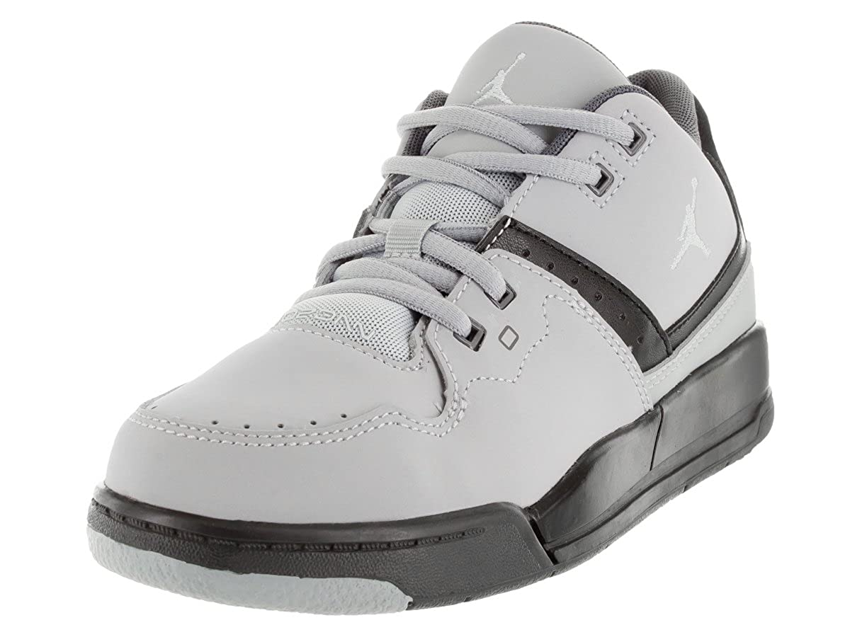 Jordan Boy's Flight 23 Little Kids Style, Wolf Wolf Wolf grau Pure Platinum schwarz Cool grau, 12.5 c34b22