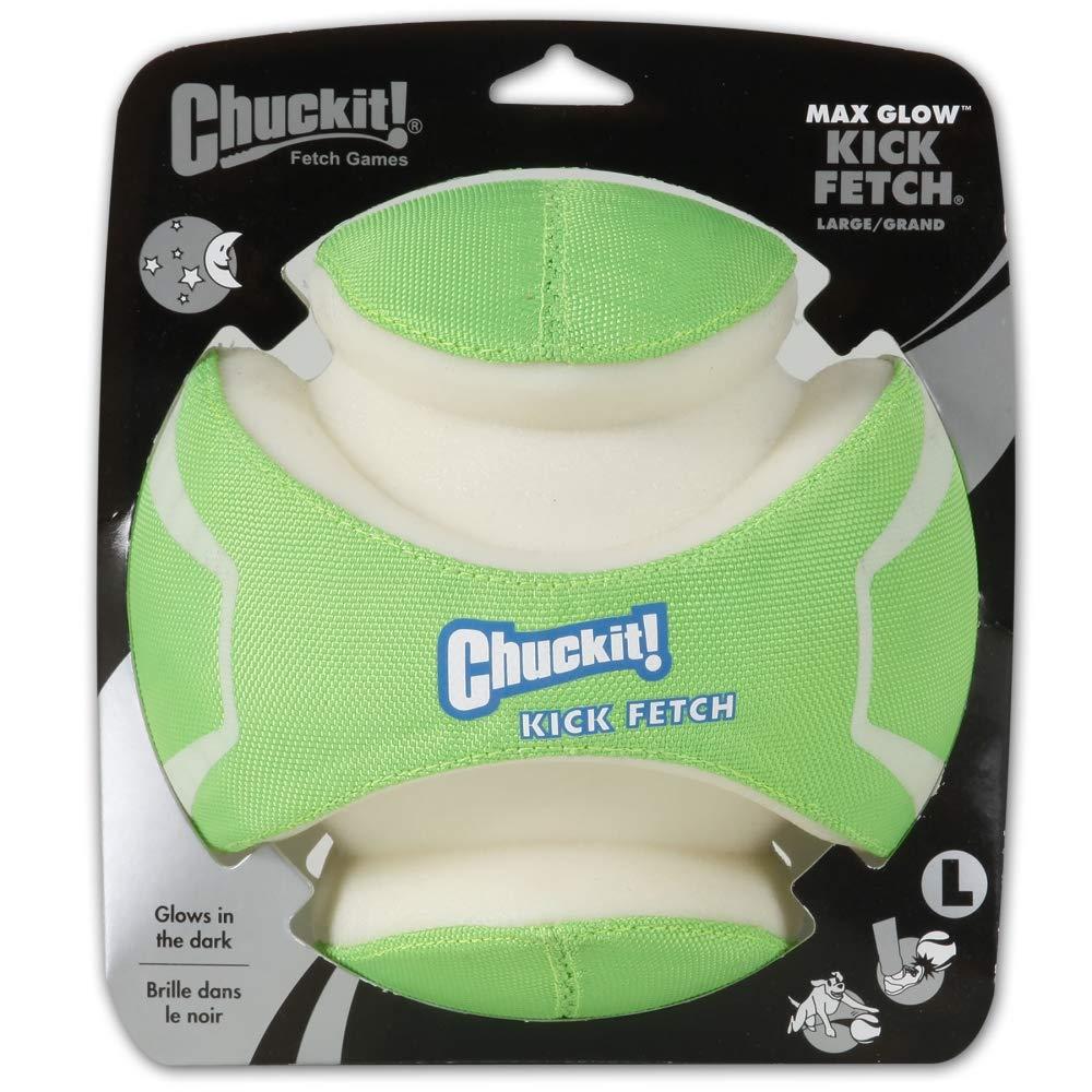 Chuckit! CU32301 MAX Glow Kick Fetch Pelota  Amazon.es  Productos para  mascotas 89131ff19f2