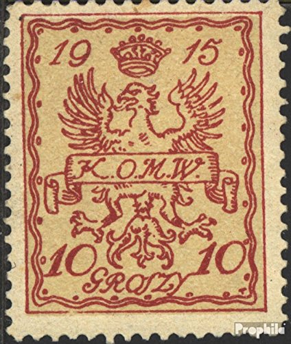 German. Post Poland - Warsaw 2 1915 Local Post Warsaw (Stamps for Collectors)
