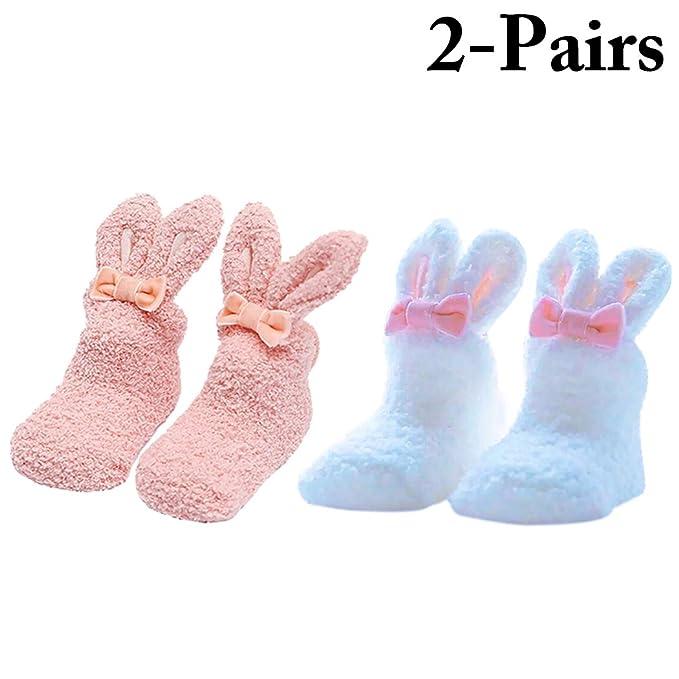 Zoylink Calcetines De Conejo Bebé Calcetines Encantadores Calcetines Suaves Para Bebés Recién Nacidos: Amazon.es: Ropa y accesorios
