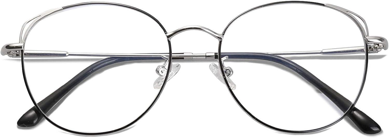 TV und Handy Katzenauge ohne sehst/ärke Computerbrille SJ5027 She Young SOJOS Brille mit Blaulichtfilter Blockieren Blaue Licht von PC