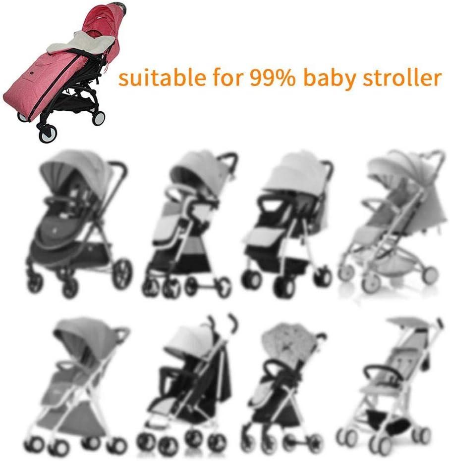 Baby Schlafsack Winter Fu/ßs/äcke f/ür Kinderwagen universal Verdicken Babydecken Sportwagen Buggy mit Anti-Rutschschutz 0-5 Jahre alt