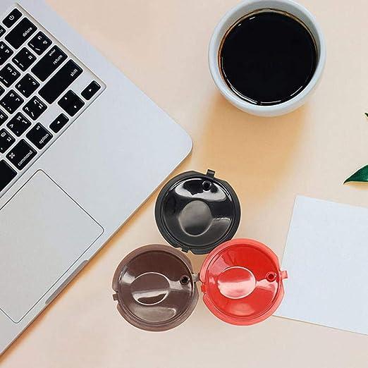 AUOKER Auker cápsulas de café Reutilizables rellenables para ...