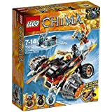 LEGO® Legends Of Chima - Playthèmes - 70222 - Jeu De Construction - Le Bulldozer Panthère