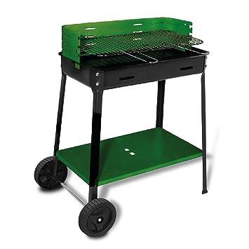 Sibrand barbacoa bbq con parrilla ruedas Carbón vegetal ...