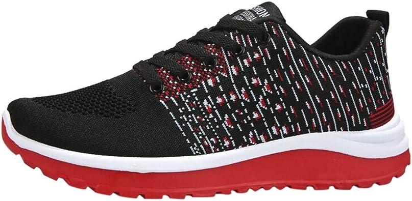 Tefamore Zapatillas para Hombre Calzados de Running Correr en ...