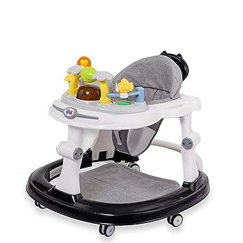 YOLL Anti-Vuelco Andador, Andadores Bebé con Freno Plegable,Anti-O ...
