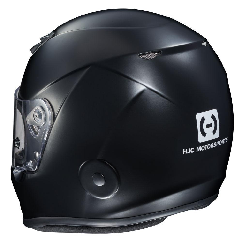 HJC Helmets HJC-2BS15 Black AR-10 III SA2015 Racing Helmet Rubbertone Small