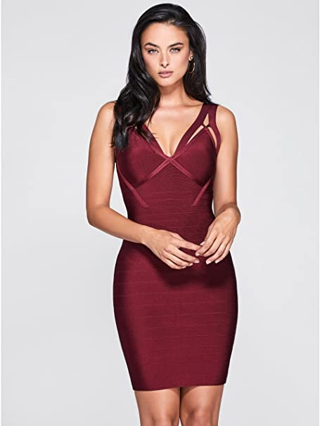 4bb83b594ee Marciano Guess Women s Olivia Strappy Bandage Dress  Amazon.ca  Clothing    Accessories