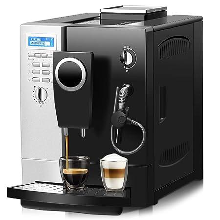 DREAMADE - Cafetera automática de acero inoxidable, cafetera ...