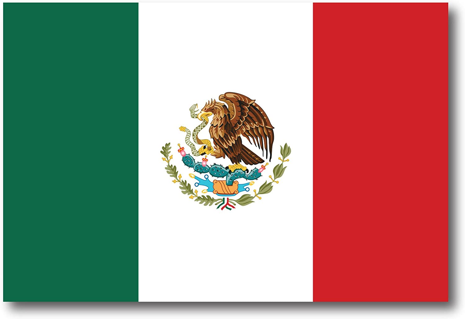 Amazon.com: Mexican Mexico Flag Car Magnet Decal - 4 x 6 Heavy Duty for Car  Truck SUV: Automotive