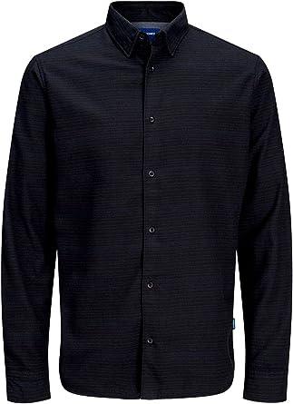 Camisa Jack&Jones Hombre Azul Marino 12161547 JORTOMMY Shirt ...