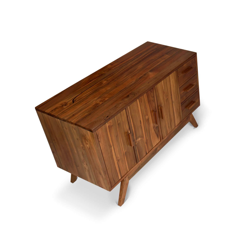 UPLIFT Desk - Teak Credenza by UPLIFT Desk