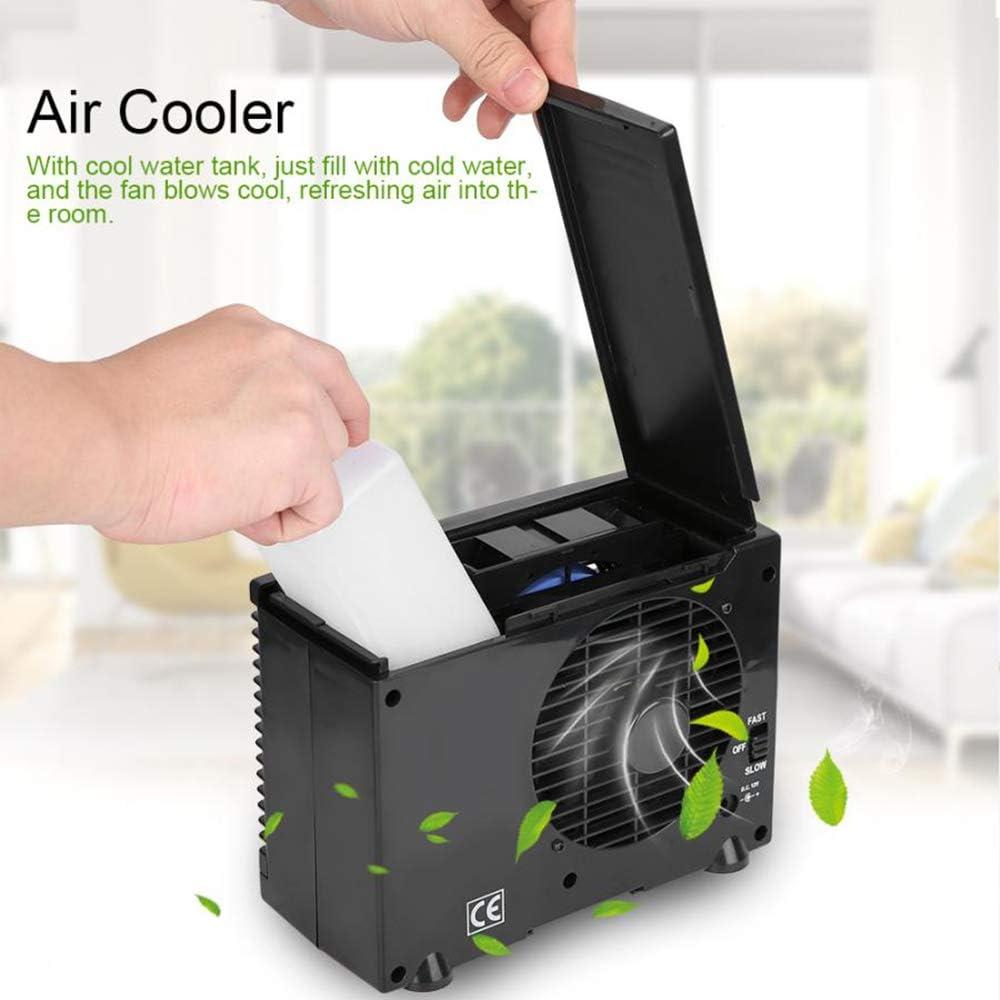ZWCC Aire Acondicionado portátil de 12V 30W Mini hogar Ventilador ...