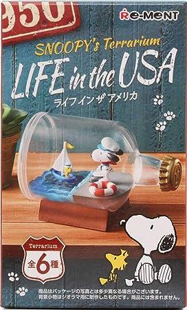 Amazon.es: Caja Sorpresa de Re-Ment con miniaturas Snoopy Terrarium Life of USA de Japón con Aventura Marinera, Juego de Golf y Otros Modelos: Juguetes y juegos