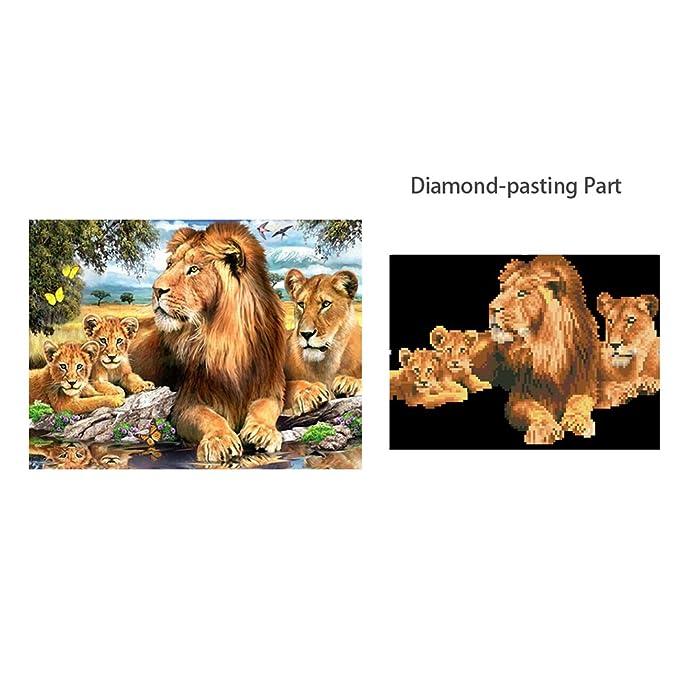 5D diamante de punto de cruz bordado pintura de diamante copia de ...