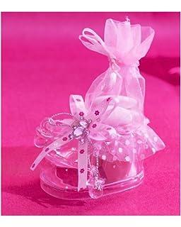 Home & Garden Etiquettes Baptême Fille Greeting Cards & Party Supply 5 Carrosses à Dragées Ou Confiseries Sacs Organza