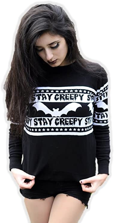 Stay Creepy Ugly Sweater
