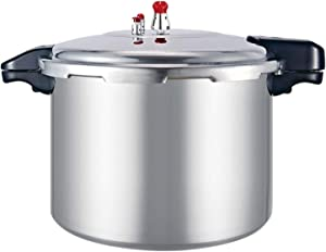 Large-capacity Commercial Pressure Cooker, Thick Explosion-proof Pressure Cooker, Household Gas Opening Flame General Hotel Canteen Pressure Cooker, 21L / 23L / 25L Large Pressure Cooker