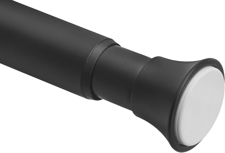 AmazonBasics - Barra de tensión para cortina de ducha, 137 a 229 cm, negro: Amazon.es: Hogar