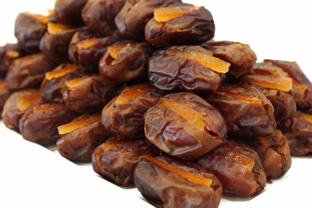 Bateel USA Wanan Dates Candied Orange Peel