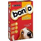 Bonio Dog Biscuit Chicken Flavour, 650 g - Pack of 5