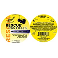 Bach Rescue Remedy Pastilles Black Currant, 1.7 oz (2 Pack)