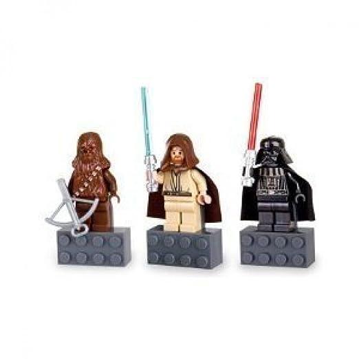 Amazon.com: Star Wars Magnet Set Chewbacca, Darth Vader and Obi-Wan ...
