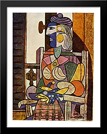 Amazon.com: Seated Portrait of Marie-Therese Walter 28x36 Large ...